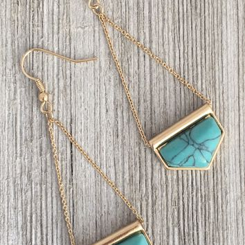 Florance Turquoise Earrings