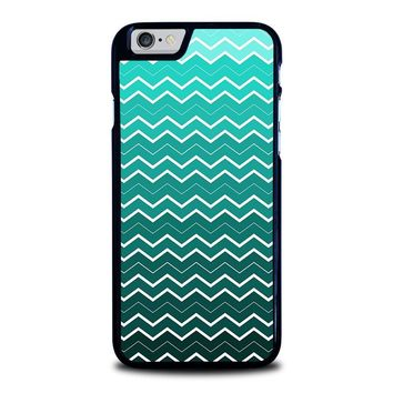 OMBRE TEAL CHEVRON Pattern iPhone 6 / 6S Case Cover