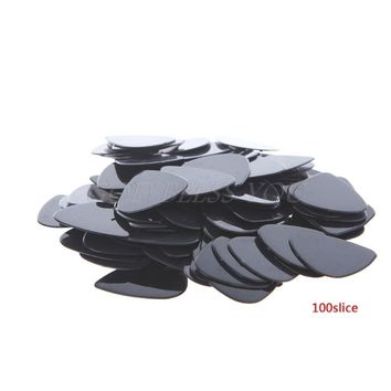 Free Shipping Lot 100pcs Acoustic Electric Guitar Picks 0.71mm Plectrums Musical Instrument