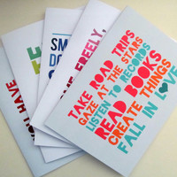 Assorted Greeting Cards - 5 Pack
