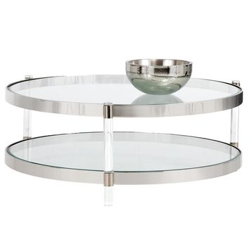 KANNEN COFFEE TABLE - LUCITE