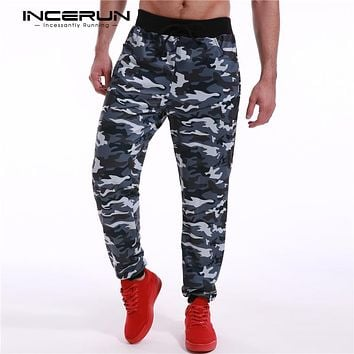 Men's Casual Slim Fit Camouflage Joggers