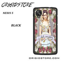 Marina And The Diamonds I Hate Everything For Google Nexus 5 Case YG