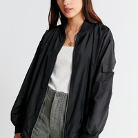 UO Oversized Bomber Jacket | Urban Outfitters