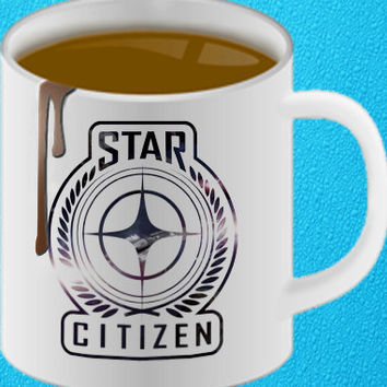 Star Citizen Coffee Mug Cup Identification Personalised Gift Game PC Xmas amazing mug gift heppy coffee.