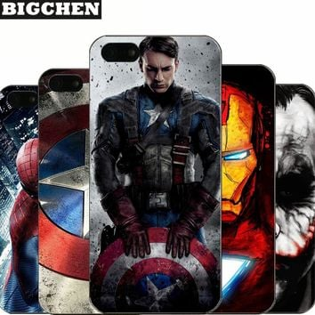 Deadpool Dead pool Taco For iPhone 5 5S SE Hard PC Case Captain America iron Man  Design Fundas Phone Cover For iPhone  5 5s Capa Coque AT_70_6