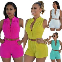 Womens Cool Casual Basic Romper