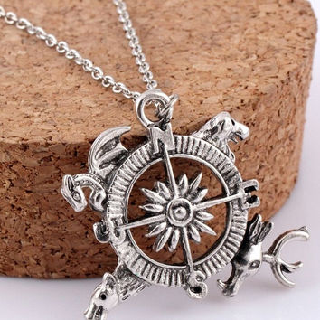 Compass Necklace - Pendant
