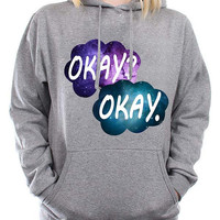 the fault in our stars nebula cozy hoodie by ghup