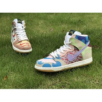 Nike SB What The Dunk High Basketball Shoes 36-45
