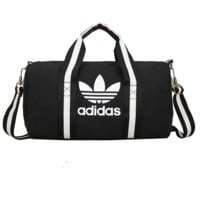 ADIDAS Fashion Women Print Canvas Travel  Large Capacity Luggage Travel Bags Tote Handbag G-A-MPSJBSC