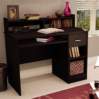 Walmart: South Shore Smart Basics Small Desk, Chocolate