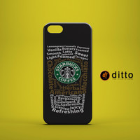 STARBUCKS MUCH Design Custom Case by ditto! for iPhone 6 6 Plus iPhone 5 5s 5c iPhone 4 4s Samsung Galaxy s3 s4 & s5 and Note 2 3 4