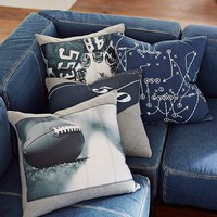 Football Photoreal Pillow Cover