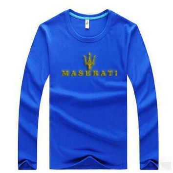 Maserati  Casual Long Sleeve Top Sweater Pullover
