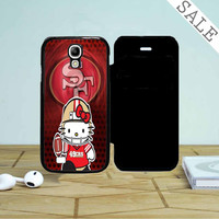 49Ers Hello Kitty Samsung Galaxy S4 Flip Case