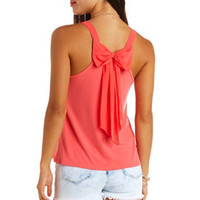 BOW-BACK SWING TANK TOP