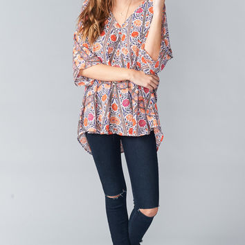 Show Me Your mumu Shook Tunic ~ Tambourine