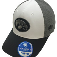 Iowa Hawkeyes Hustle Stretch Hat By Top Of The World
