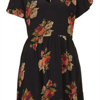 Autumn Floral Tea Dress - New In This Week - New In - Topshop USA