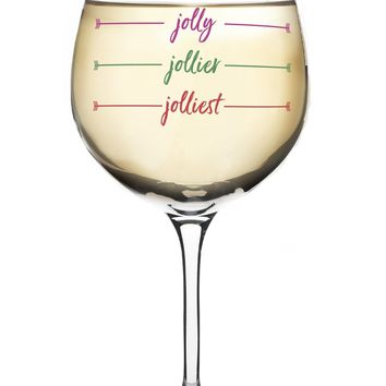 Jolliest XL Wine-ism Glass