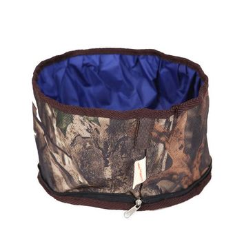 Waterproof folding bowl Camouflage Cool Traveller
