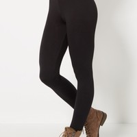 Black Super Soft High-Waisted Legging | Leggings | rue21