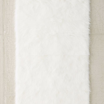 Faux Sheep Skin Rug | Urban Outfitters