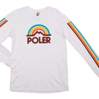 MOUNTAIN RAINBOW L/S TEE