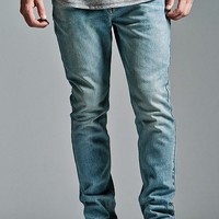 Bullhead Denim Co. Brite Indigo Ripped Stacked Skinny Jeans at PacSun.com