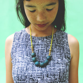Blue Majapahit Necklace