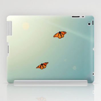 Monarch Sky Love iPad Case by RichCaspian
