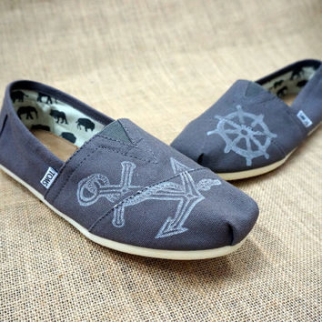 Men's Nautical TOMS shoes