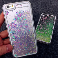 Sparkling Glitter Iphone Cases for 6 S Plus