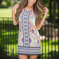 All You Need Is Sun Shift Dress