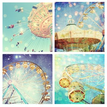Carnival Photography Set  - Four prints - Save 35%