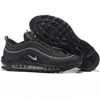 NIKE AIR MAX 97 Fashion Running Sneakers Sport Shoes black H Z