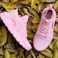 Nike Air Huarache 4 PINK Women running shoes 36-40