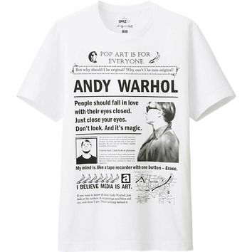 MEN SPRZ NY GRAPHIC T SHIRT (ANDY WARHOL) | UNIQLO