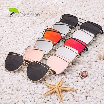 Womens Sunglasses Trendy Cat Eye Fashion Sunglasses Brand Woman Vintage Rose Gold Pink Sun Glasses for Women Shades lunettes