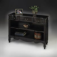 Butler Specialty Plum Black Bookcase - 1654136