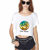 The Neighbourhood Crop Shirt , Custom Crop Shirt , Woman Crop Shirt