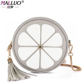 MALLUO Women Messenger Bags Famous Brand Women Handbags With Chains And Flowers Cute Ladies Crossbody Bags Fashion Girls Totes