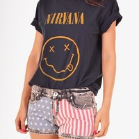 T-shirt - Nirvana by MDKN - T-shirts & Tanks - Women - Modekungen