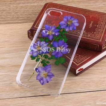 iPhone 5 case, iPhone 4 case, iPhone 4s case, iPhone 5s case, iPhone 5c case, Swallow Pressed Flower Galaxy S4 S5 Note 3 - 01021