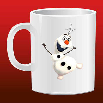 Olaf Frozen for Mug Design