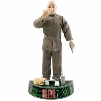 Dr. Evil & Mr. Bigglesworth - Collectible Doll