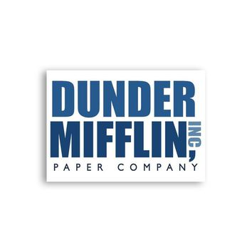 Dunder Mifflin Magnet - The Office Magnet - Michael Scott Magnet - Dwight Schrute Magnet - Fridge Magnet - Dunder Mifflin Magnet