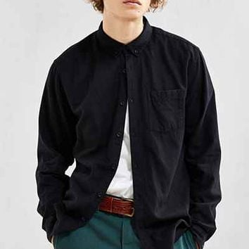 UO Stevens Cross-Dyed Button-Down Shirt - Urban Outfitters