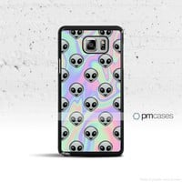 Tie Dye Alien Emoji Case Cover for Samsung Galaxy S & Note Series